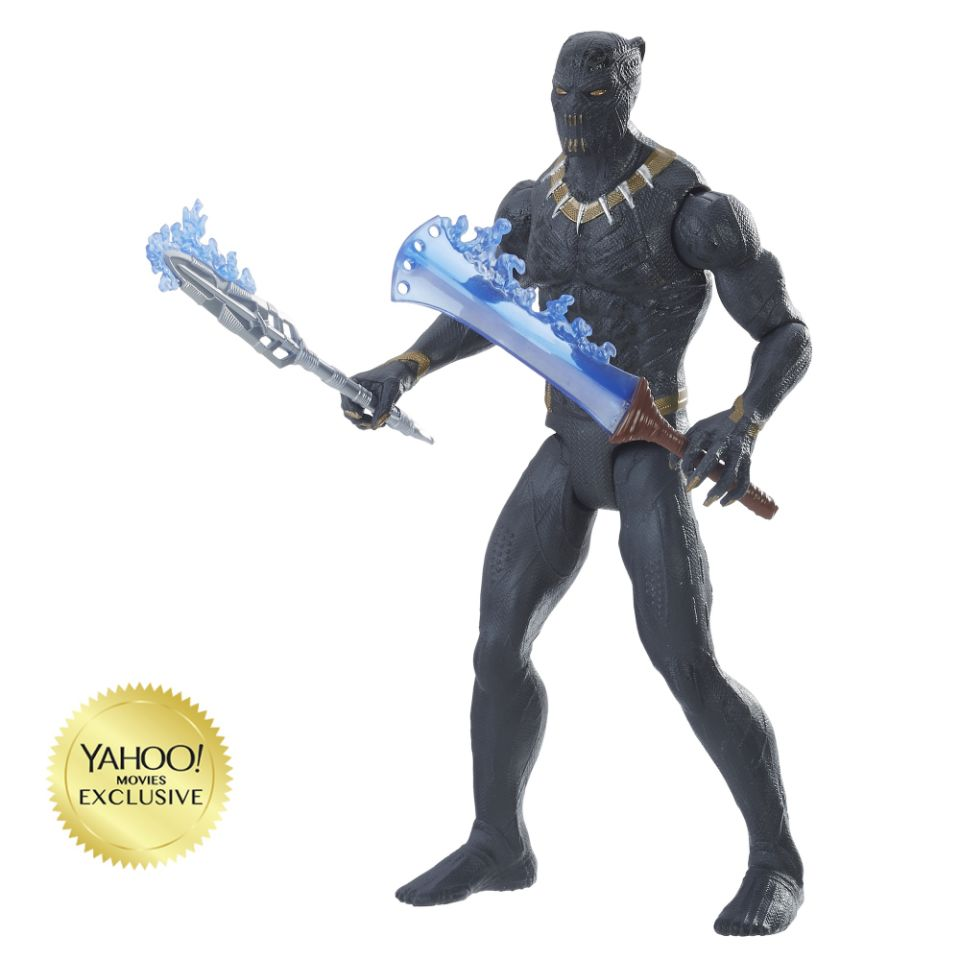 Marvel's Black Panther Killmonger Black Panther Suit