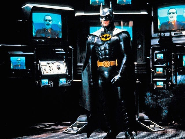 michael keaton batman tim  burton