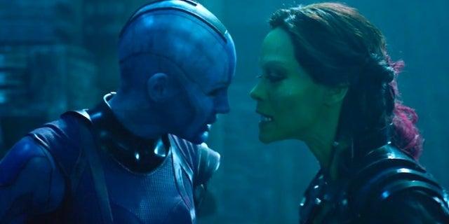 Nebula Gamora Flashback Avengers 4