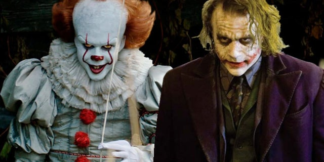 pennywise it joker the dark knight