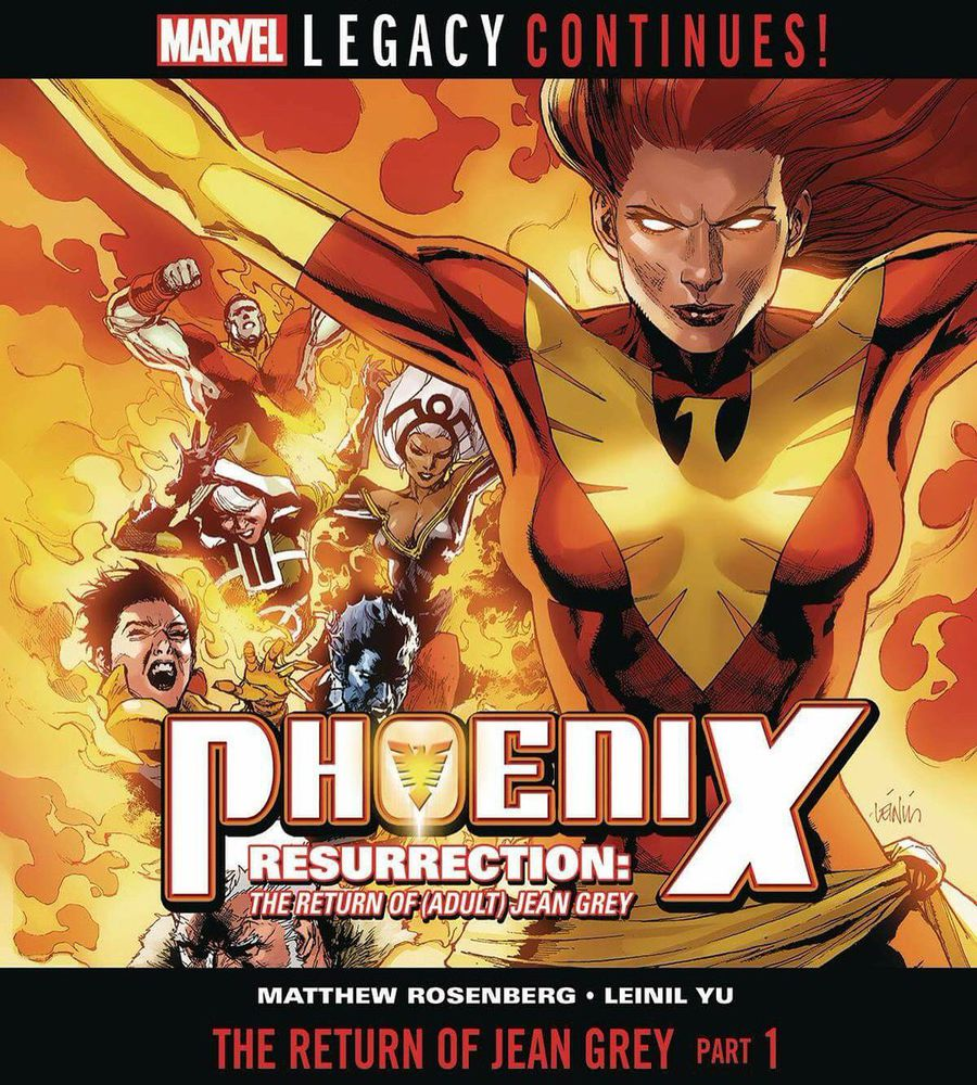 phoenix resurrection the return of jean grey