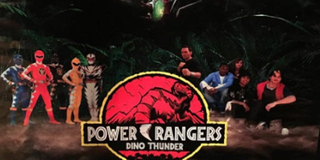 Power-Rangers-Dino-Thunder-Jurassic-Park-Poster