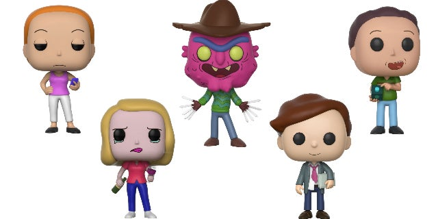 rick and morty funko wave 3