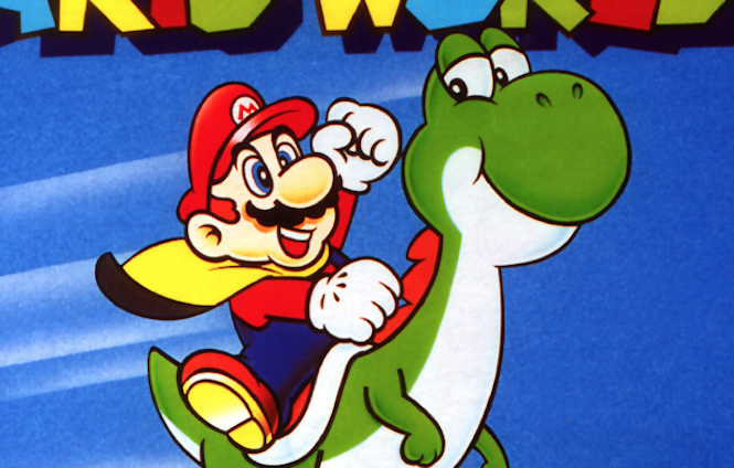 Have a look at Nintendo's early prototype for Yoshi