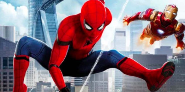 spider man homecoming cover art