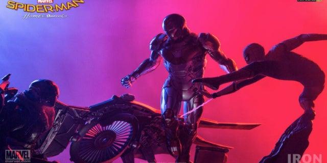 Spider-Man Homecoming Iron Studios