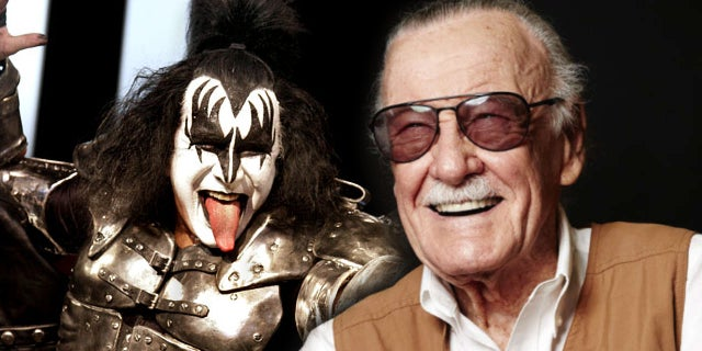 stan lee gene simmons kiss costume