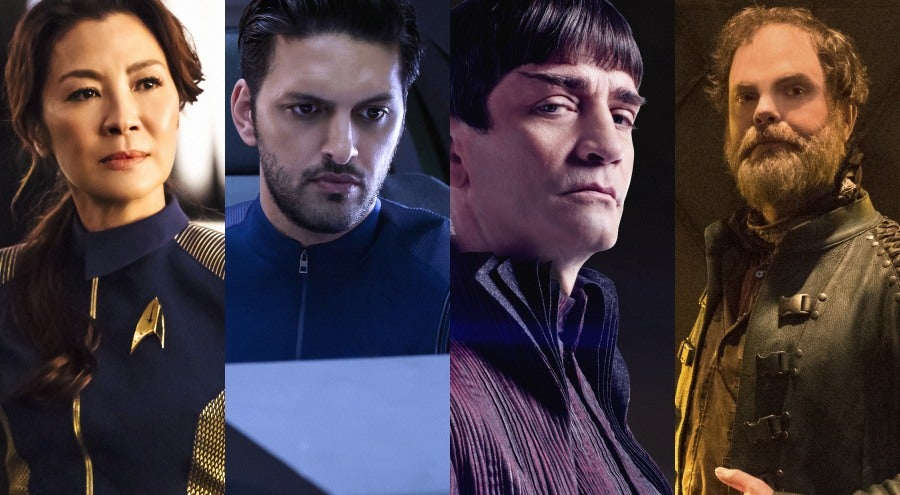 Star Trek Discovery Cast Federation