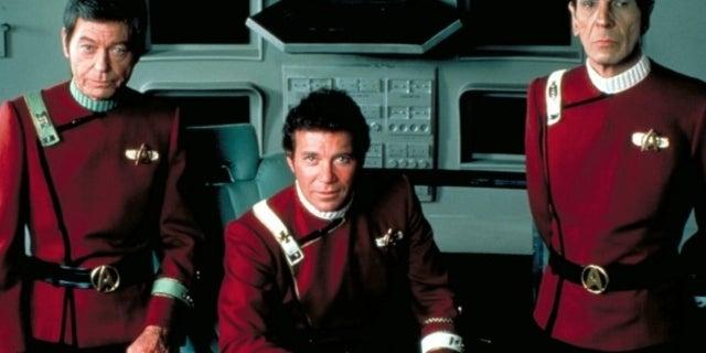 Star Trek II Kirk Spock McCoy