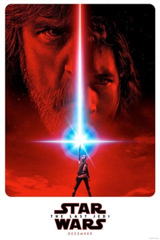 Star Wars: The Last Jedi movie poster image