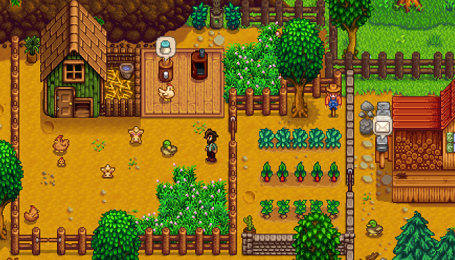 Signs of life from the Stardew Valley multiplayer mode
