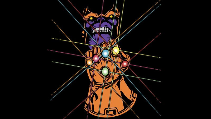 Thanos MCU Infinity Stones by skeletonjack666-d3jeedf