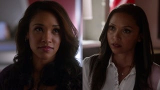 the-flash-iris-west-cecile-horton-fight