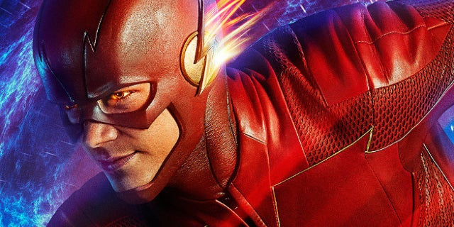 The Flash Season 4 Reborn and Recharged Poster