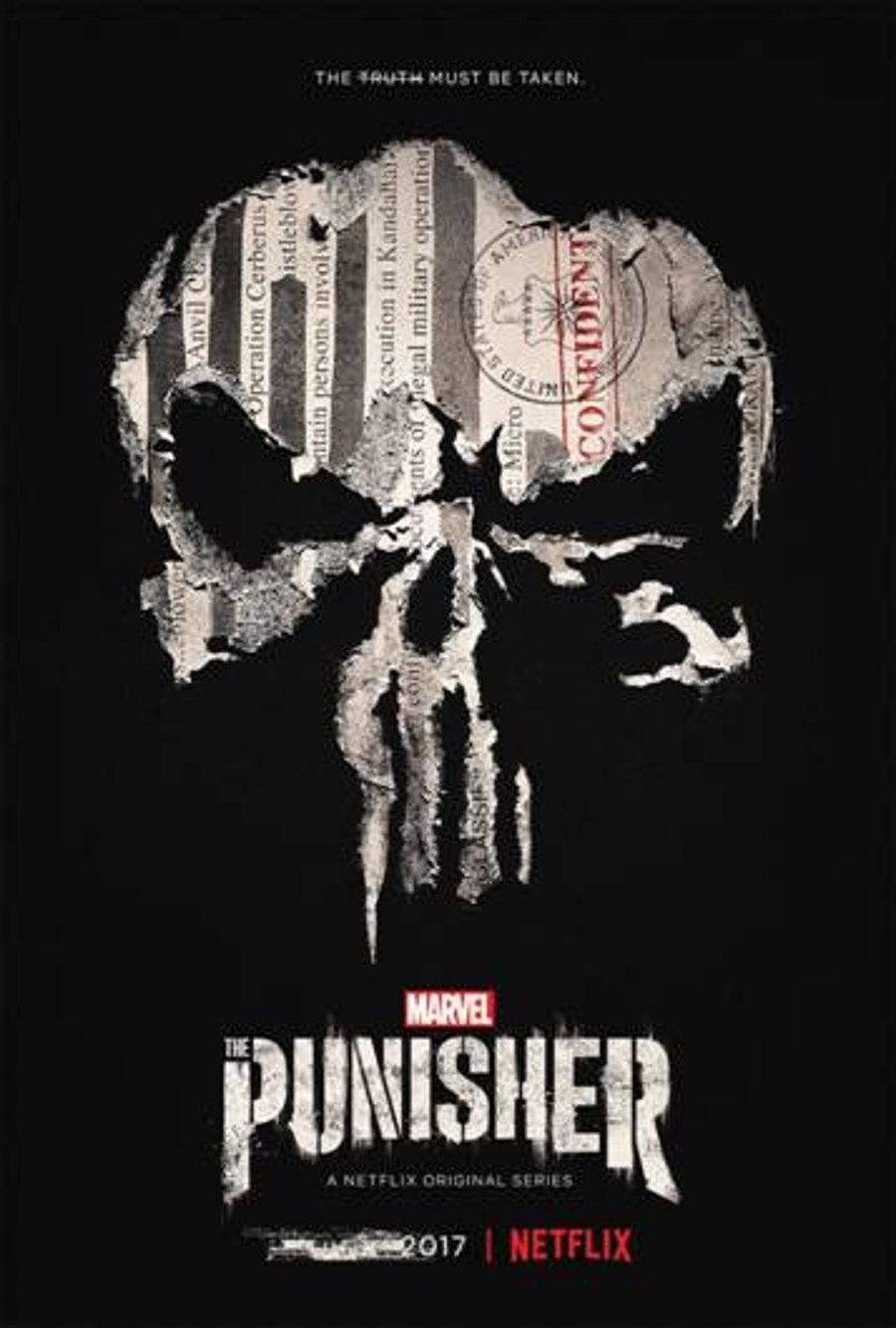 The Punisher key art