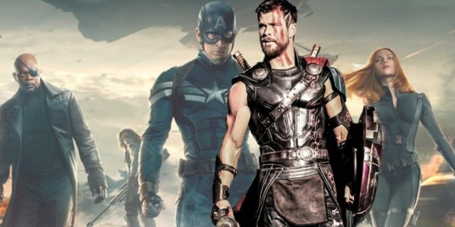 Thor Ragnarok Captain America