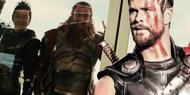 thor ragnarok sif warriors three