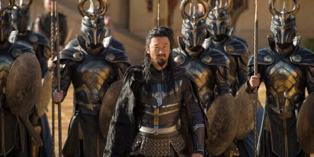 thor ragnarok warriors three hogun