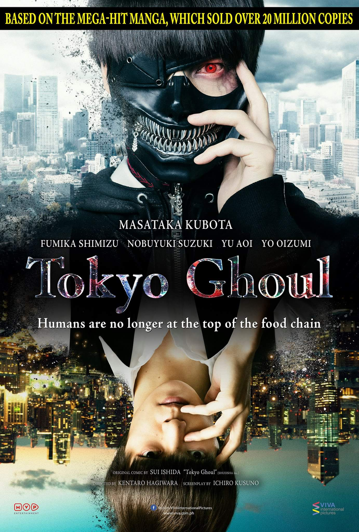 Tokyo Ghoul Live-Action Movie 2017
