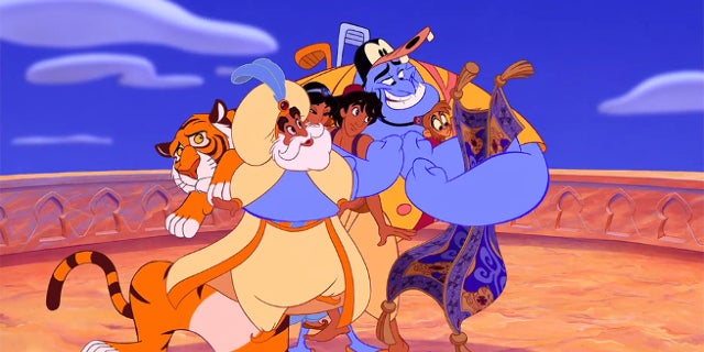Will Smith Disney's Aladdin First Cast Photo