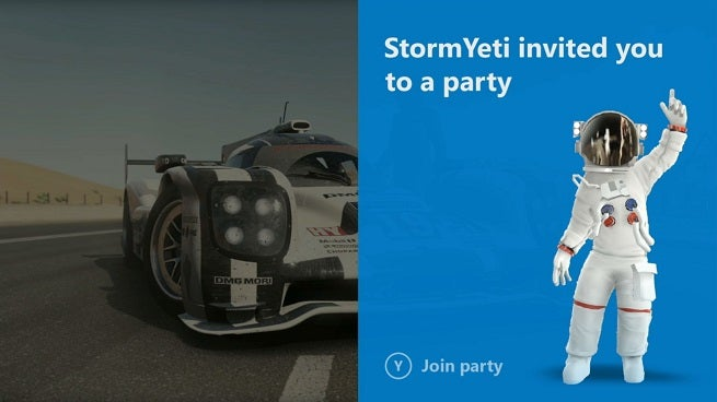 Xbox One UI Notifications