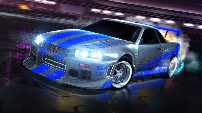 two more fast furious cars coming to rocket league next week