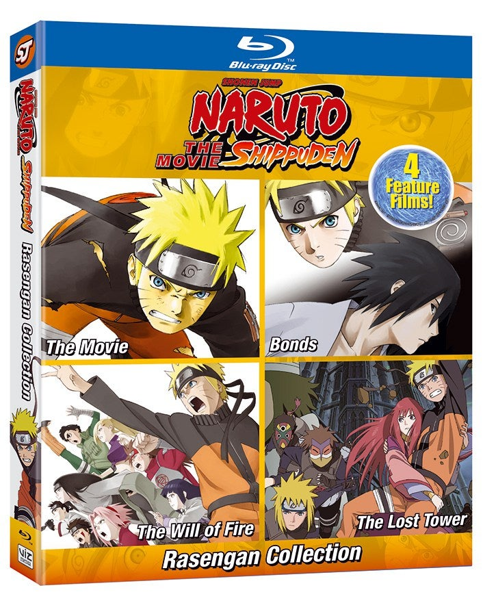 Naruto Shippuden' Ultimate Movie Collection Announced