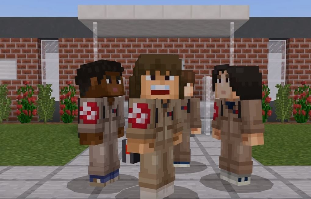 Stranger Things Skin Pack Revealed For Minecraft - Skins para minecraft no pc