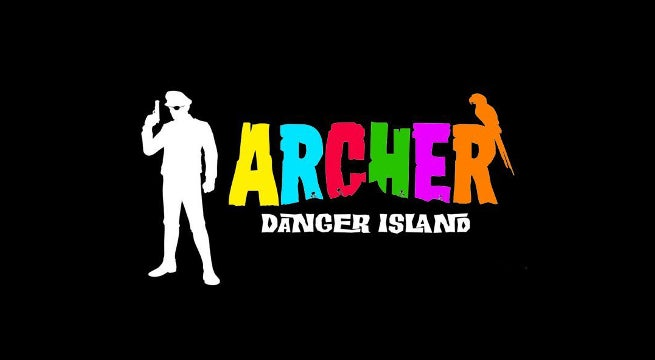 Archer Season 9 Danger Island Logo