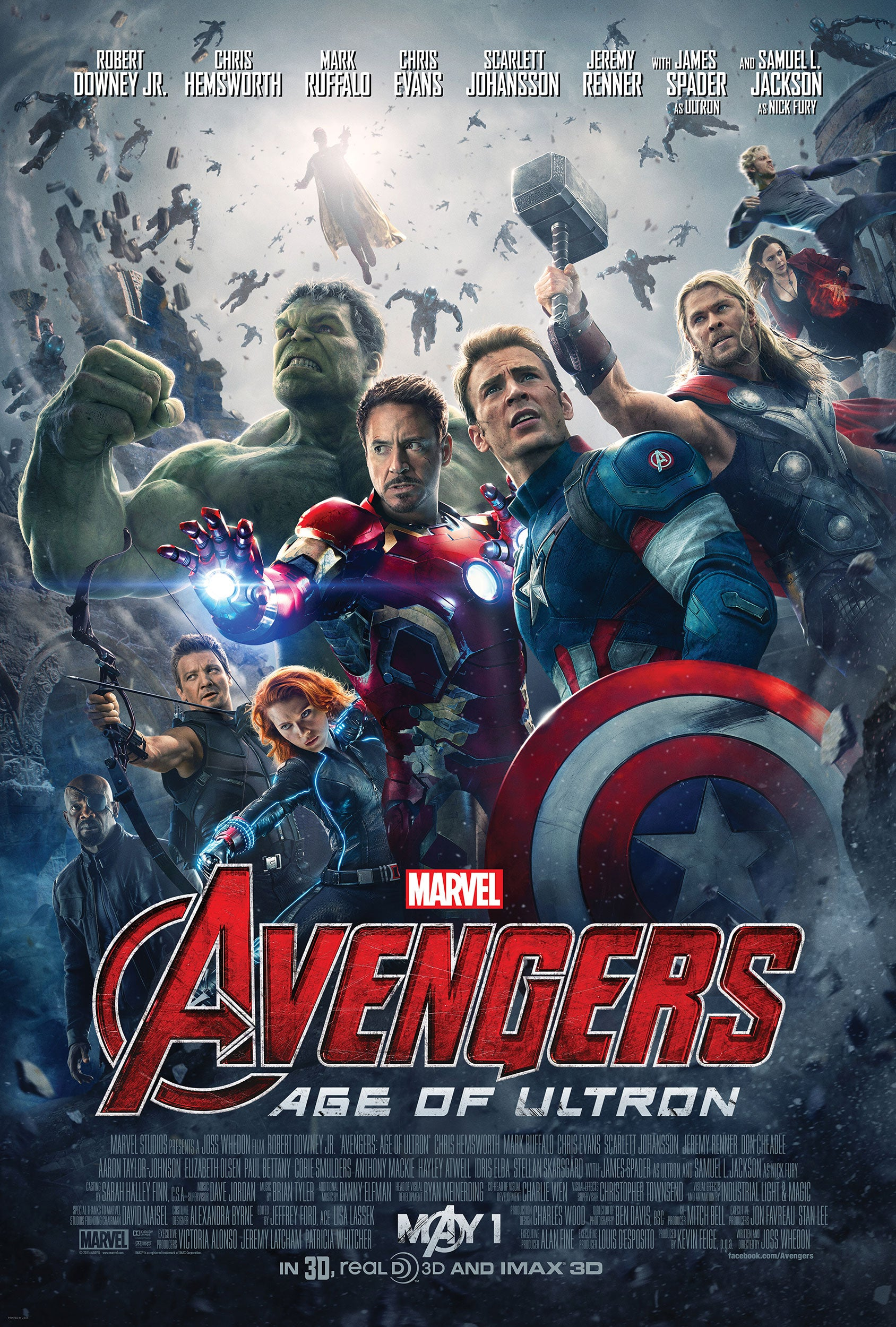 Avengers 2 Movie Poster - Marvel Cinematic Universe