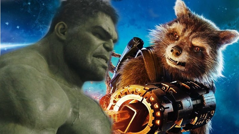 Avengers 3 Hulk Rocket Raccoon