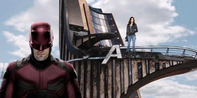 avengers tower marvel netflix