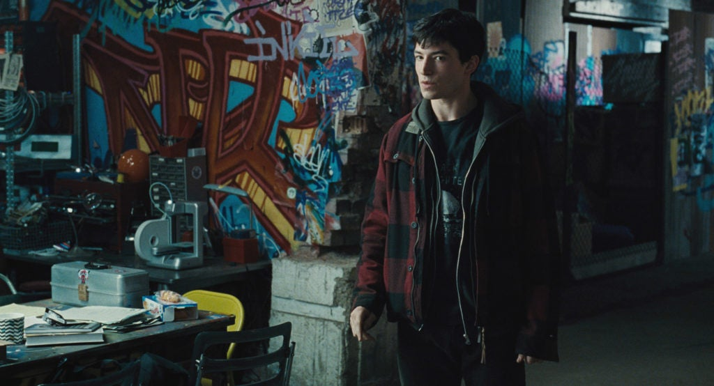 Barry Allen Flash Cave in Justice League Hi-Res Image