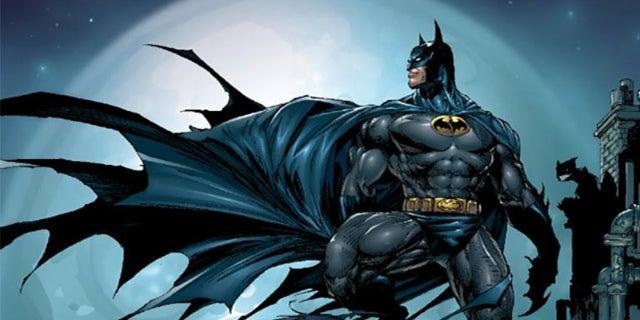 batman on roof