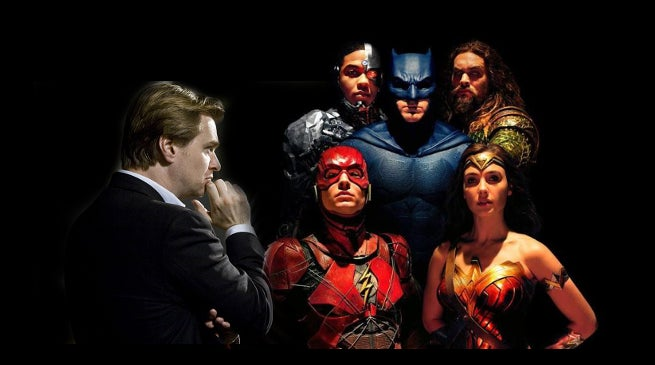 Christopher Nolan Justice League Executive Producer