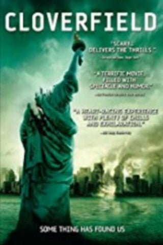 Cloverfield movie poster image