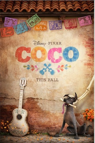 Coco movie poster image