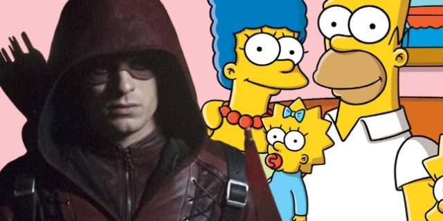 colton haynes halloween simpsons
