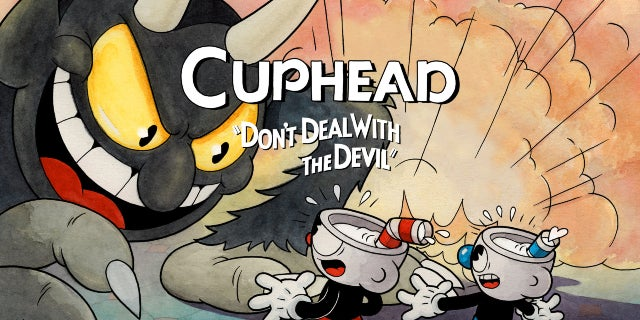 cuphead 1920x1080 titled hero art