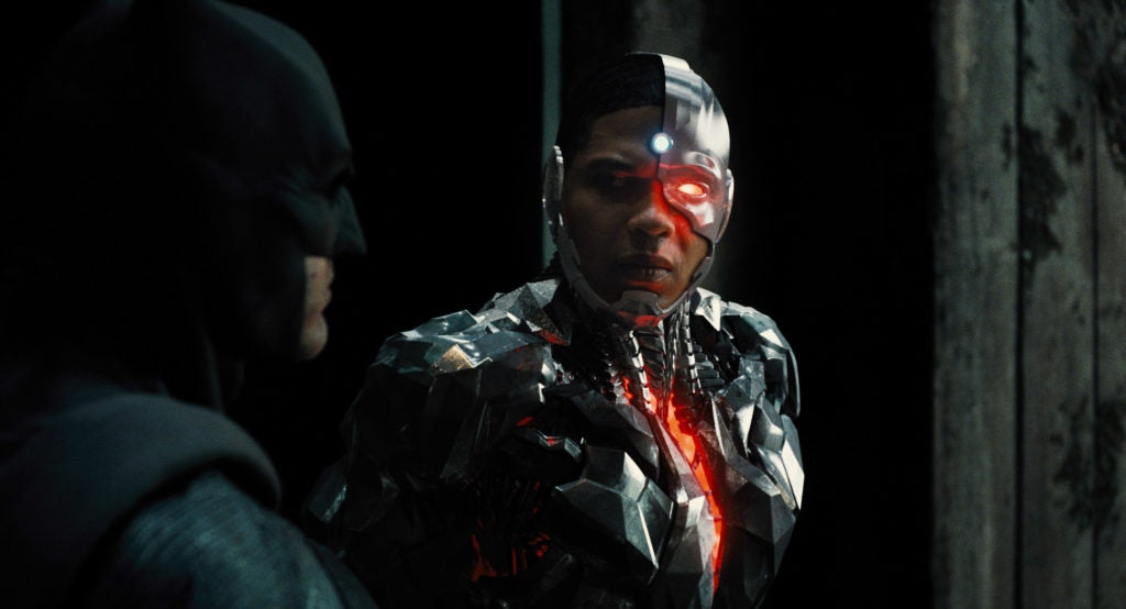 Cyborg and Batman in Justice League Hi-Res Image