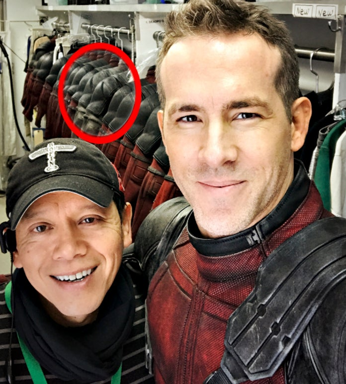Deadpool 2 Set Photo X-Force Suit Costume