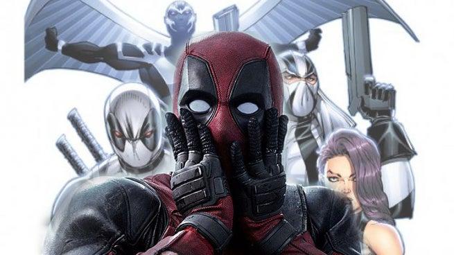 X Force Deadpool Deadpool 2