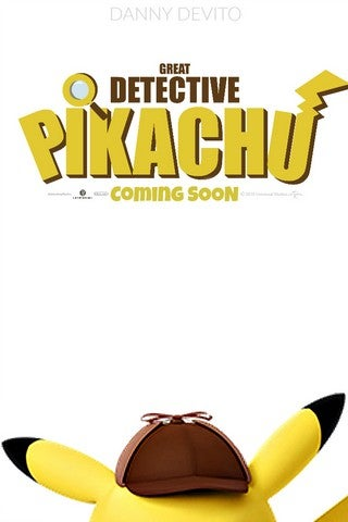 Detective Pikachu movie poster image