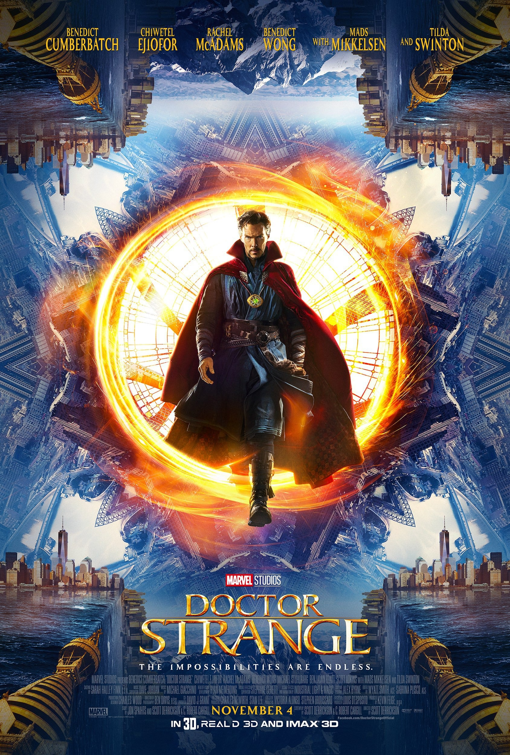 Doctor Strange Movie Poster - Marvel Cinematic Universe