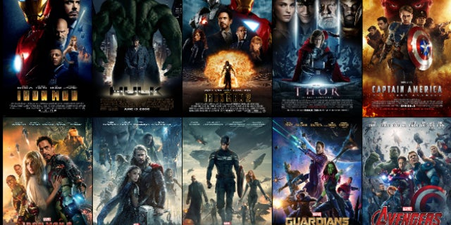 Every MCU Theatrical Poster