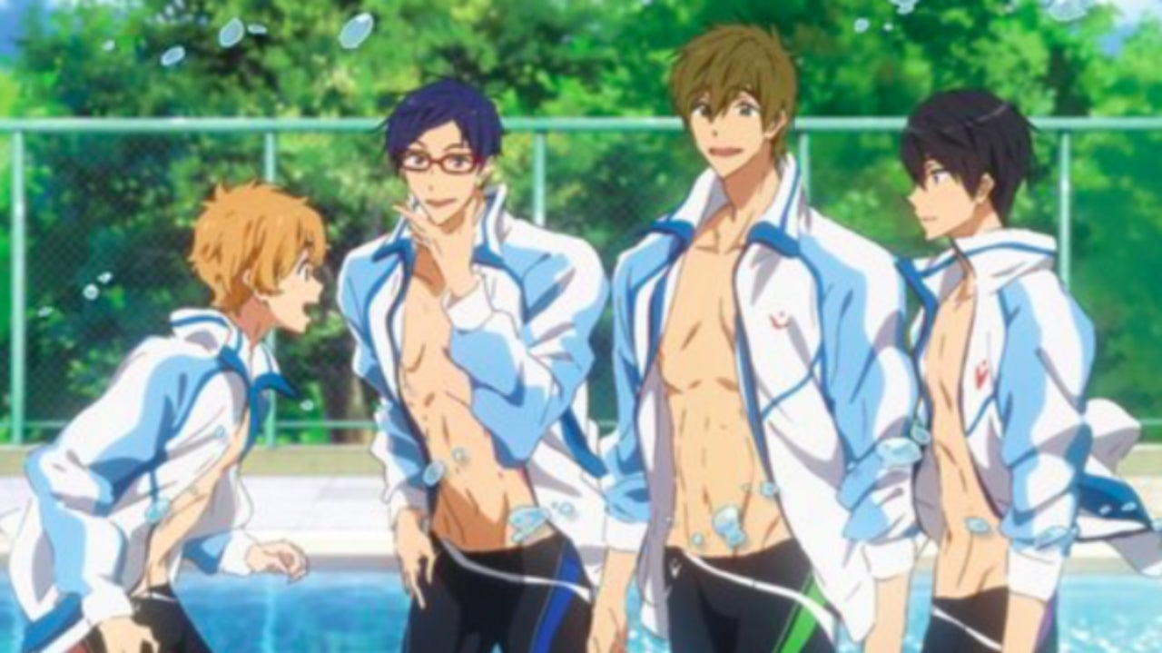 free iwatobi swim club to get a third season