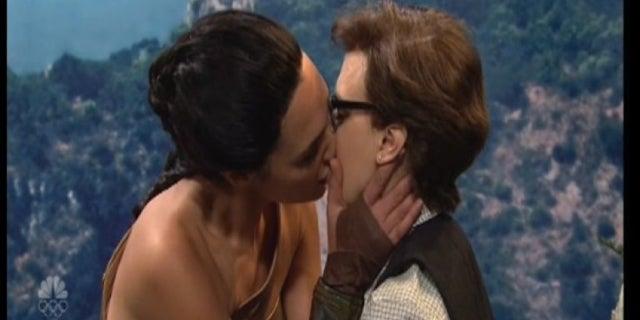 gadot mck kiss