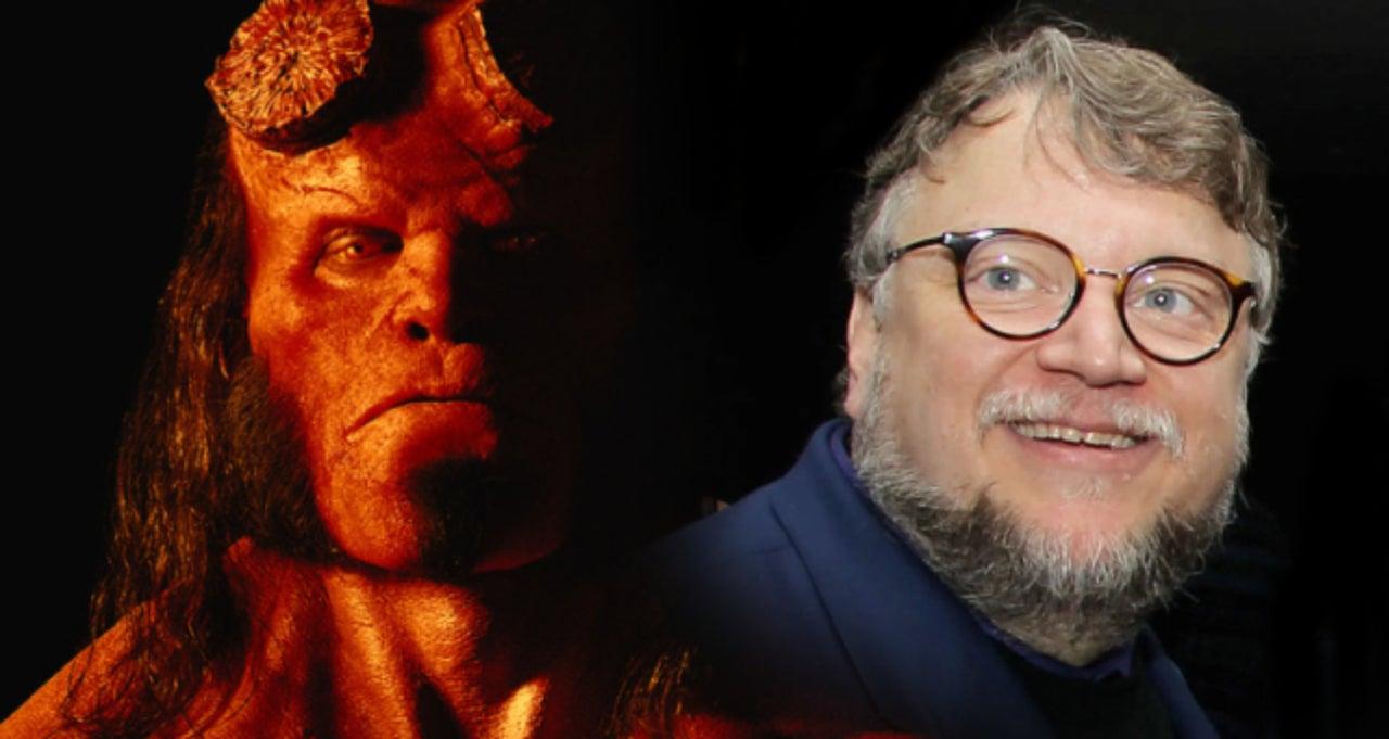 Guilhermo Del Toro regarding guillermo del toro comments on david harbour's 'hellboy' casting