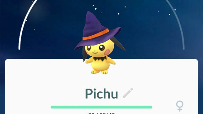 Pokemon Go Adds Adorable Halloween Themed Pichu to Eggs
