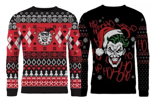 harley and joker christmas sweaters 2